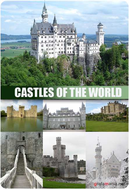 Stock Photo - Castles of the World