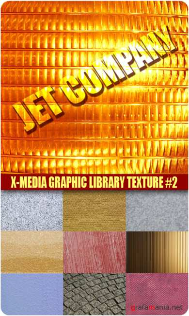 Jet Company - X-media Graphic Library Texture #2