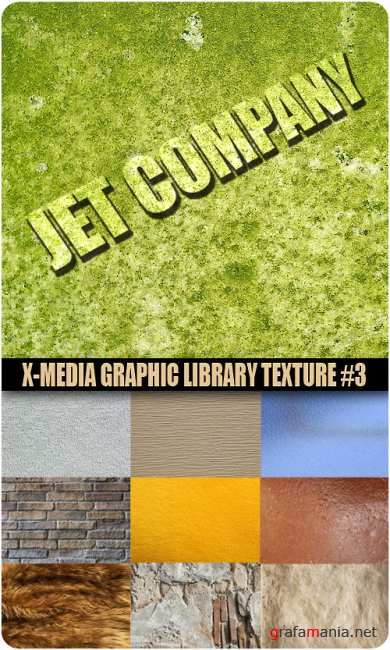Jet Company - X-media Graphic Library Texture #3