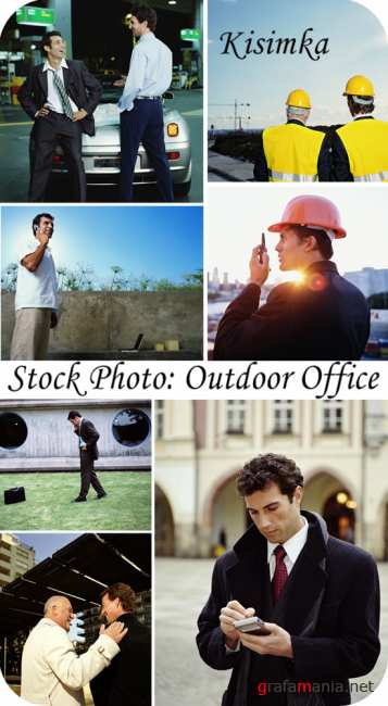 Stock Photo:  Outdoor Office