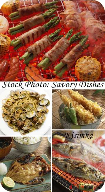 Stock Photo:  Savory dishes