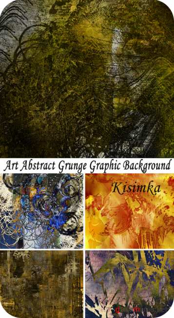 Art abstract grunge graphic background