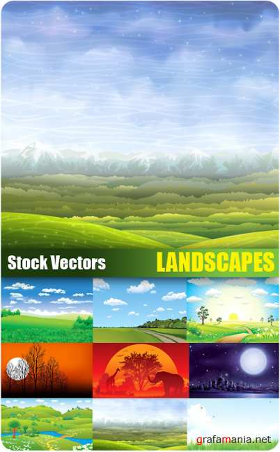 Stock Vectors - Landscapes