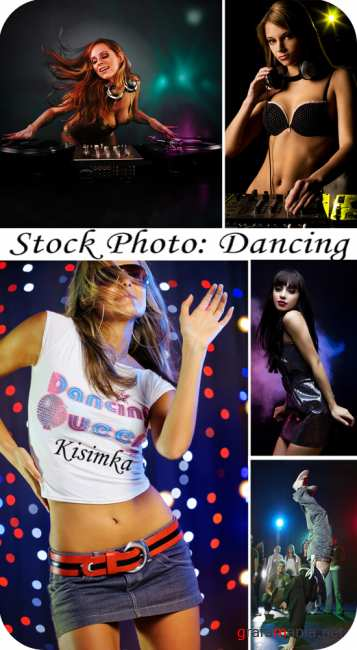 Stock Photo: Dancing