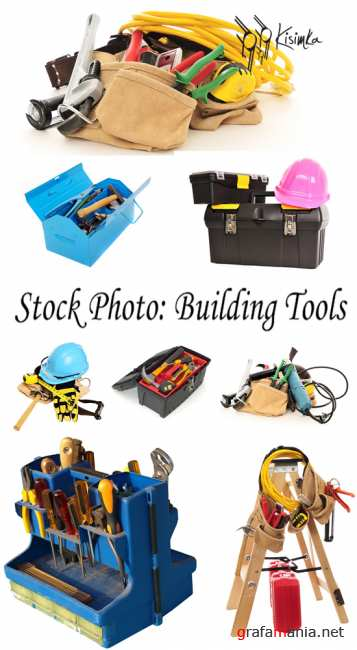 Stock Photo: Building tools