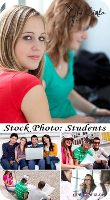 Stock Photo:   Students