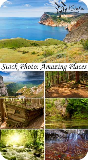 Stock Photo:  Amazing places