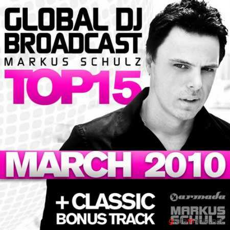 Global DJ Broadcast Top 15: March 2010
