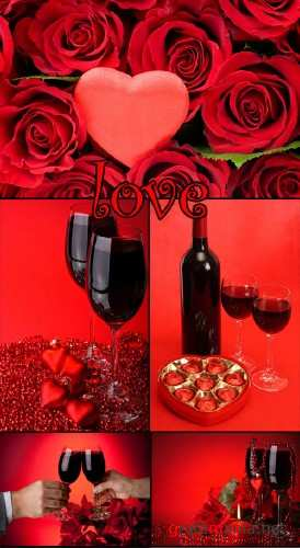 Love and Wine clipart