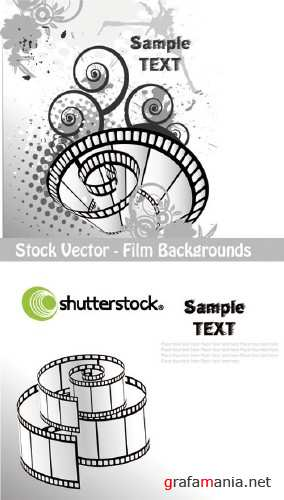 Stock Vector - Film Bakgrounds