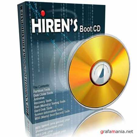 Hiren's BootCD 10.2 Russian (lexapass) Full Acronis (загрузочная usb-флешка) by aGREE