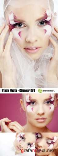 Stock Photo - Glamour girl