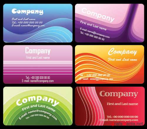 SS Business cards vectors 2