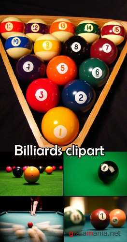 Billiards clipart