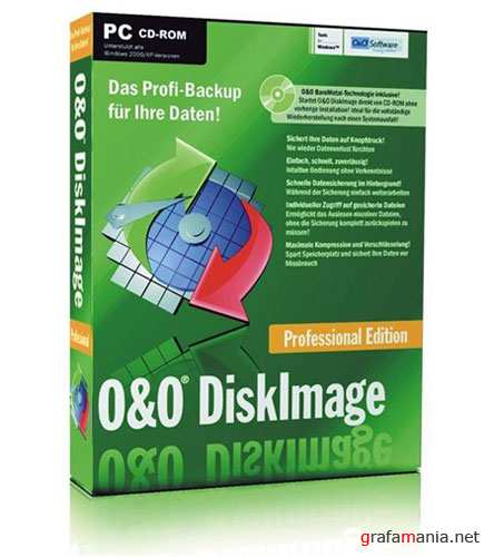 O&O DiskImage Professional Edition 5.0.127 + Portable  и Аварийный диск (2010)