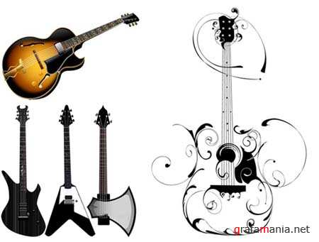 Guitars Vector Collection 3