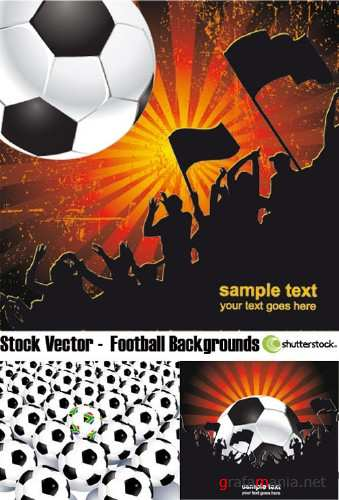 Stock Vector - Football Backgrounds