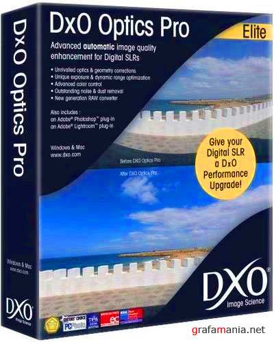 DxO Optics Pro 6.1.2 Build 7540 Portable