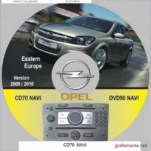 Opel CD70 East-Central Europe 2009/2010