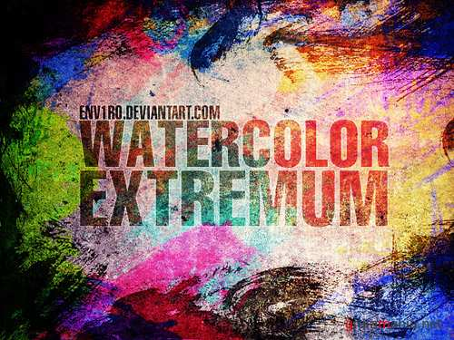 WaterColor EXTREMUM Brushes