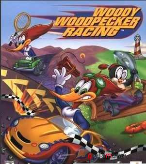Woody Woodpecker Racing (Portable)