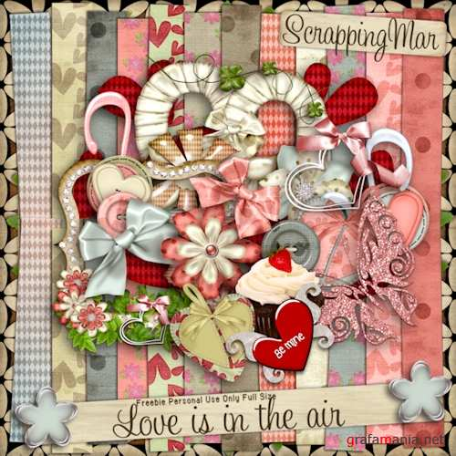 �����-�����  Love is in the air �� ScrappingMar