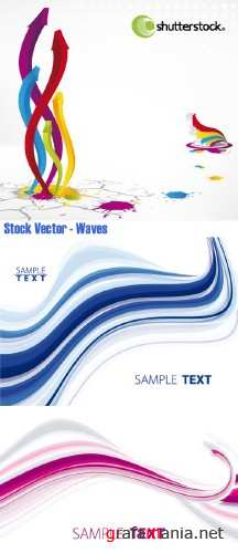 Stock Vector - Waves