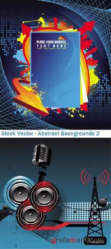 Stock Vector - Abstract Backgrounds 2