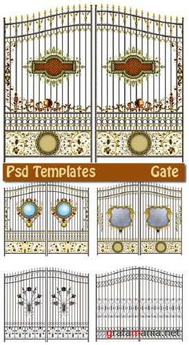 Gate - Psd Template