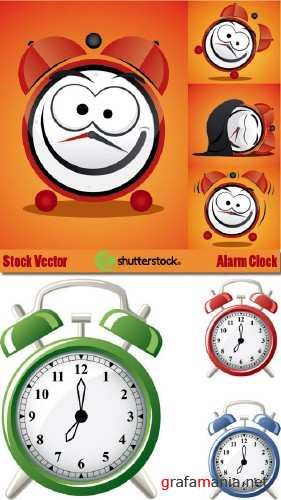 Stock Vector - Alarm Clock