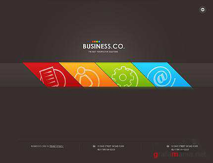 Business.co - Flash Site Template