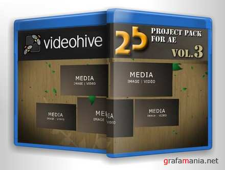 Videohive - 25 Project Pack for After Effects Vol.3