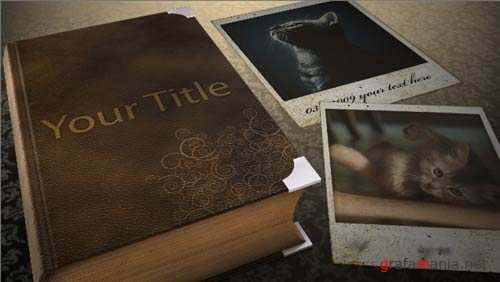 Videohive - Romantic Book