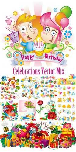 Celebrations Vector Mix