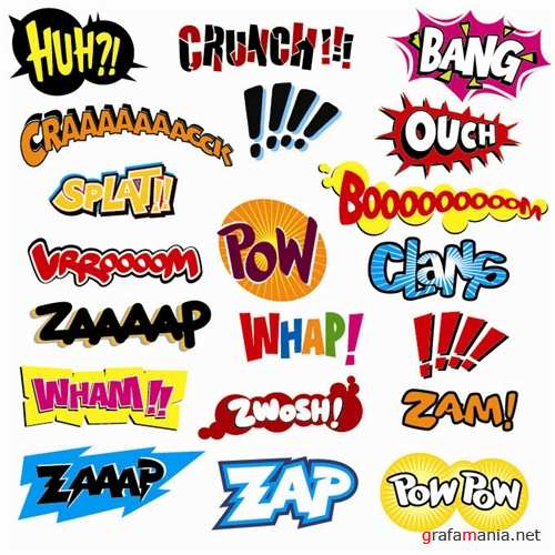 Funny Sounds Vector