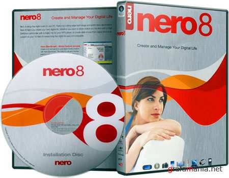 Nero 8.3.20.0 All Languages + Nero General CleanTool + Template Packs + Nero InCD + LightScribe Soft