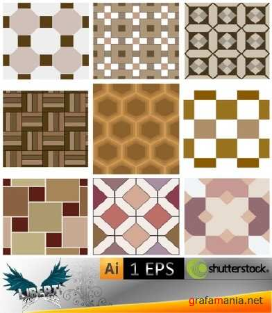 Collections of floor coverings textures