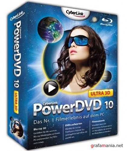 CyberLink PowerDVD 10 Ultra Build 1516 Retail RePack