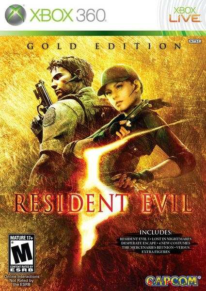 Resident Evil 5. Gold Edition / ������� ��� 5. ������� ������� (2010/PAL/MULTI5/XBOX360)