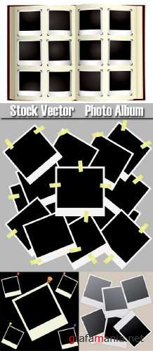 Stock Vector - Photo Album
