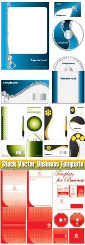 Stock Vector - Business Template