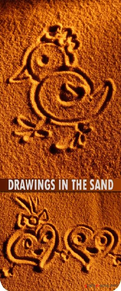 Drawings in the sand