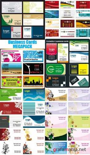 Vector Business Cards Megapack