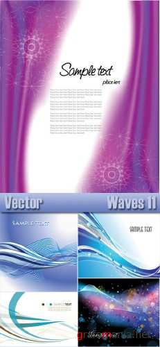 Stock Vector - Waves 11