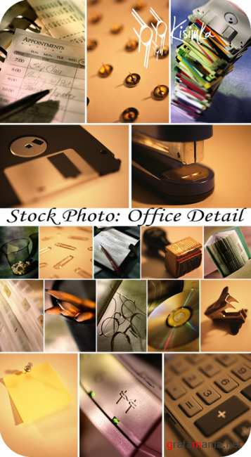 Stock Photo: Office detail