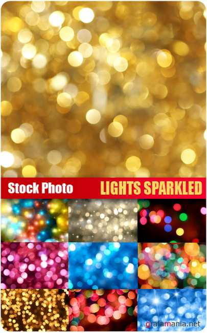 Stock Photo - Lights Sparkled