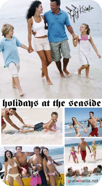 Stock Photo: holidays at the seaside