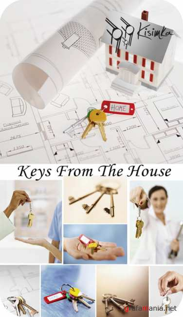 Stock Photo:  Keys from the house
