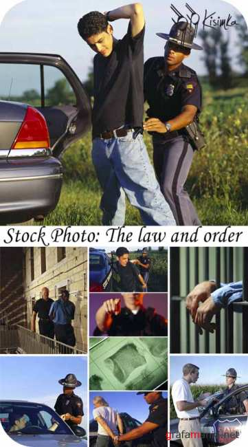 Stock Photo: The law and order