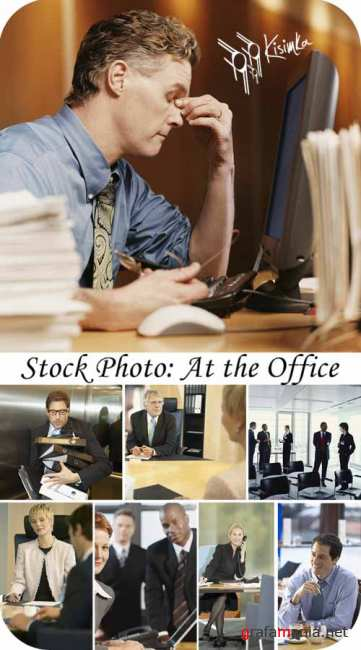 Stock Photo: At the Office